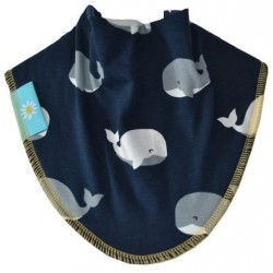 Deep Sea Whales Dribble Bib