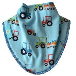 Cornish Tractors Dribble Bib