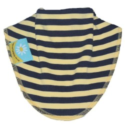 Hornet Black and Yellow Stripe Dribble Bib