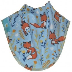 Playful Fox Dribble Bib