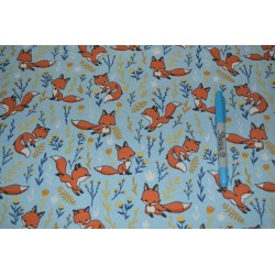 Cute Fox  Cotton Jersey...