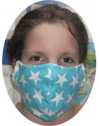 Star Design Fabric Facemasks